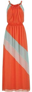 coral Maxi Dress by Maurices