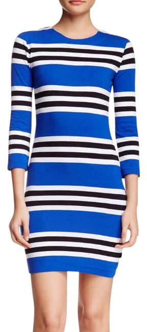 Preload https://img-static.tradesy.com/item/21159721/french-connection-34-length-sleeve-multi-jag-stripe-knit-short-casual-dress-size-2-xs-0-1-650-650.jpg