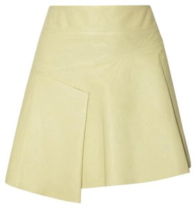 Derek Lam Mini Skirt Light Green/ Citrus