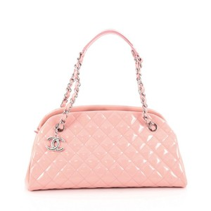 Chanel Leather Satchel in Pink