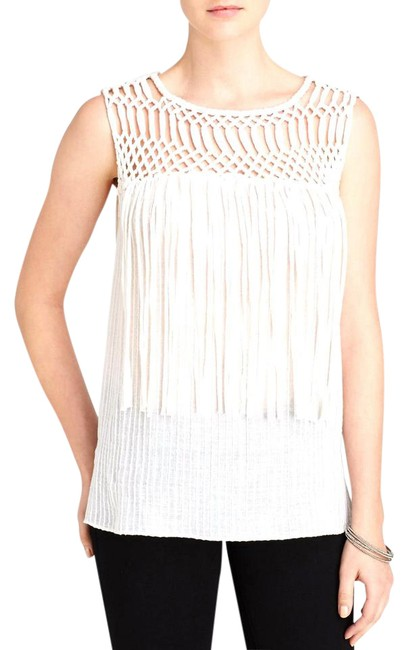 Preload https://img-static.tradesy.com/item/21159990/ramy-brook-white-alma-fringed-night-out-top-size-8-m-0-1-650-650.jpg