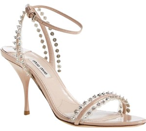 Miu Miu Crystal Formal Wedding Sandals