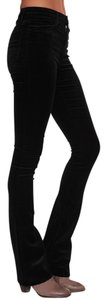 J Brand Stretchy Boot Cut Velvet Slim Pants