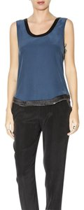 Ramy Brook Top Blue / Black