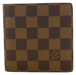 Louis Vuitton Louis Vuitton Damier Ebene Marco Bifold Men's Wallet