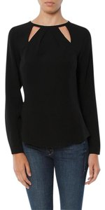 Ramy Brook Cut Out Detail Top Black