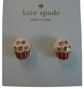 Kate Spade NWT AUTHENTIC Take The Cake Stud Earrings