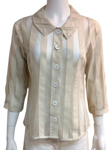 Tracy Reese Button Down Shirt cream