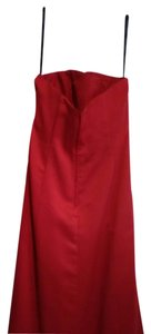 Alfred Angelo Red Q90206 Dress