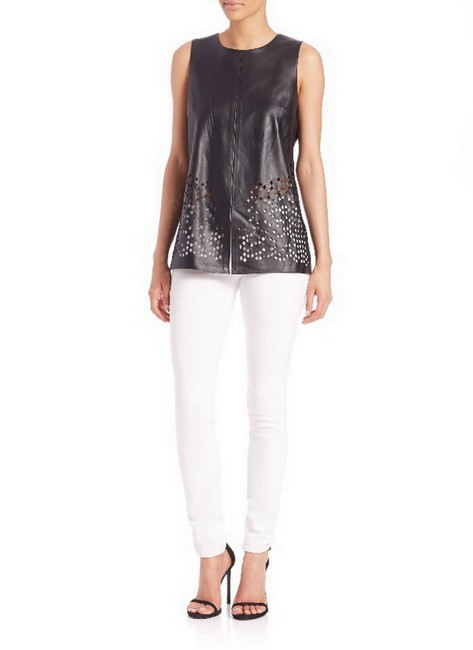 Ramy Brook Partial Lining Top Black Image 1