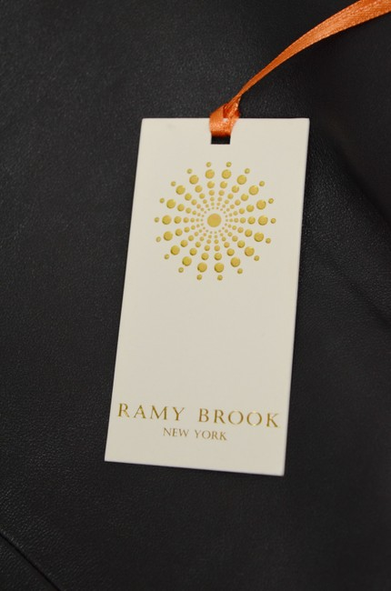 Ramy Brook Partial Lining Top Black Image 3