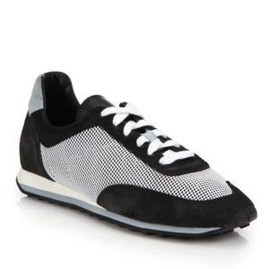 Rag & Bone & Dylan Mixed Media Trainers Black grey white Athletic
