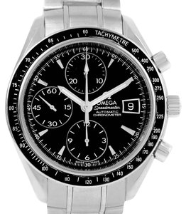 Omega Omega Speedmaster Stainless Steel Automatic Date Mens Watch 3210.50.00