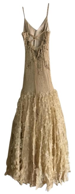 Sue Wong Gold Limited Collection Formal Dress Size 0 (XS) Sue Wong Gold Limited Collection Formal Dress Size 0 (XS) Image 1