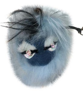 Fendi FENDI Monster FUR Bag Charm/ keychain