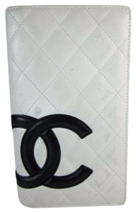 Chanel White, Leather &