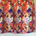 Multicolor Graphic Floral Skirt Size 2 (XS, 26) Multicolor Graphic Floral Skirt Size 2 (XS, 26) Image 3