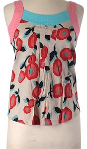 Marc Jacobs Top Pink, orange, aqua, navy blue, red