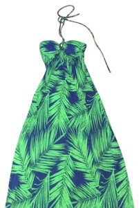 blue/green Maxi Dress by Other