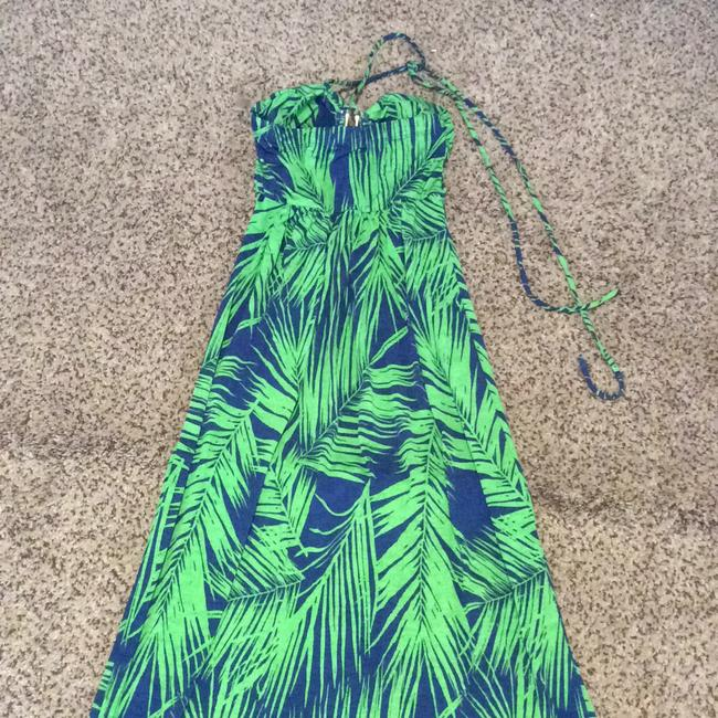 blue/green Maxi Dress by Other Image 1