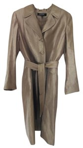 Kasper 2 Piece Kasper suit. Sleeveless sheath dress with matching belted long jacket.