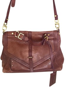 Tory Burch Satchel in Plum