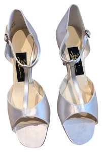 Fancy Shoes Wedding Dyable T-strap Performance Dyable Ivory Formal