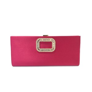 Roger Vivier Fucia Pink Clutch