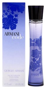 Giorgio Armani Armani Code By Giorgio Armani 2.5oz/75ml EDT Spry Perfume , Women,New.