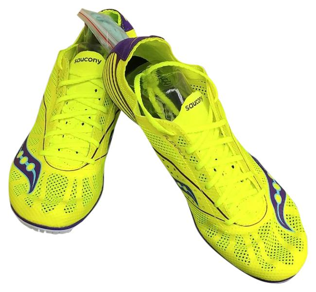 Saucony Yellow H3 Spike Md4 Sneakers Size US 10 Regular (M, B) Saucony Yellow H3 Spike Md4 Sneakers Size US 10 Regular (M, B) Image 1