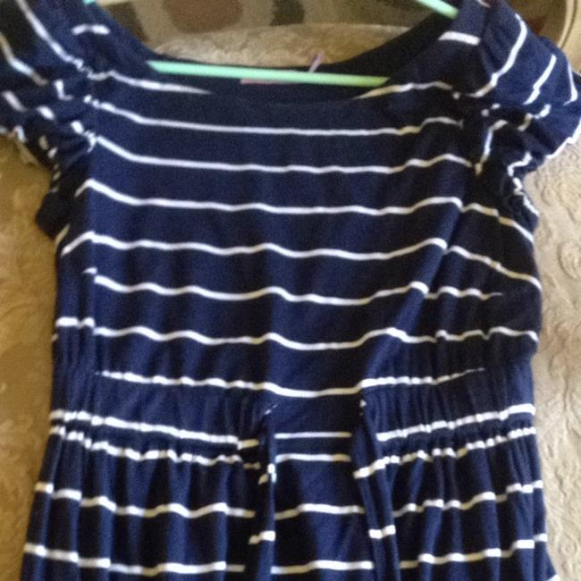 Juicy Couture short dress Navy With White Stripes on Tradesy