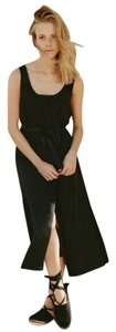 Black Maxi Dress by Dôen Silk Maxi Sundress