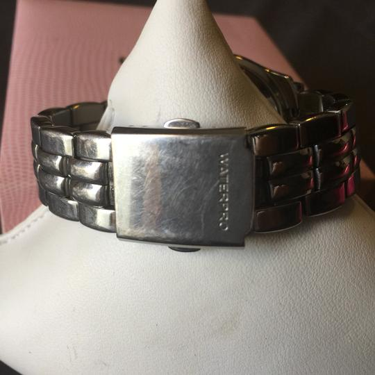 Guess Guess silver watch rhinestone face Image 2