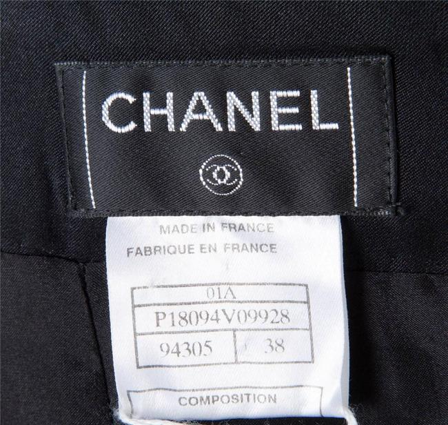 Chanel 01a 01a Silk Mermaid Satin Maxi Skirt BLACK Image 3