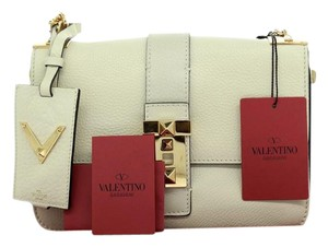 Valentino Messenger Gold Cross Body Bag