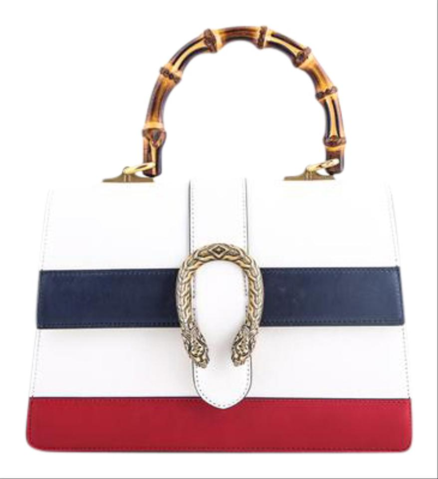 Gucci White With Red Dionysus Shoulder Bag Tradesy
