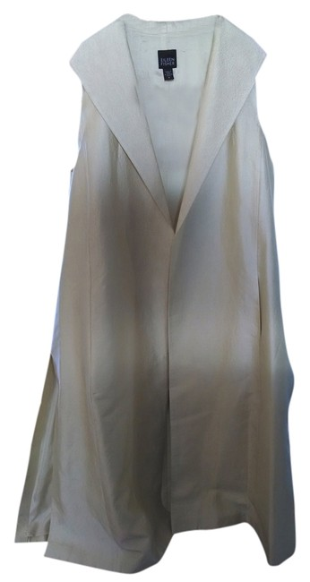Preload https://item4.tradesy.com/images/eileen-fisher-pale-yellow-nwot-silk-summer-and-long-jacket-pant-suit-size-10-m-2116143-0-0.jpg?width=400&height=650