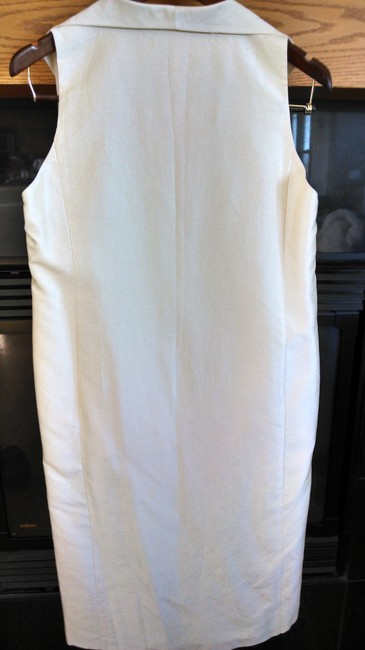 Eileen Fisher Eileen Fisher NWOT 100% Silk Summer Suit. Pants & Long Jacket.
