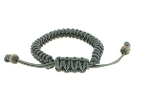 Stephen Webster Stephen Webster Men's No Regrets grey woven leather bracelet