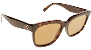 Cline NEW Celine 41057/S Radical Brown Oversized Sunglasses