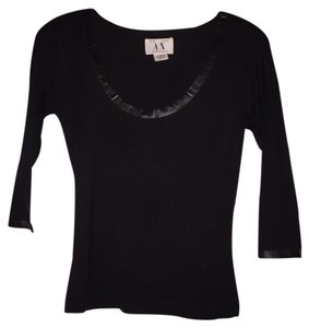 A|X Armani Exchange Top black