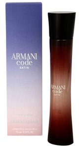 Giorgio Armani Armani Code SATIN Giorgio Armani 2.5oz/75ml EDP Spray Woman,New.