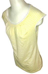 Colombia Sportswear Top yellow and white