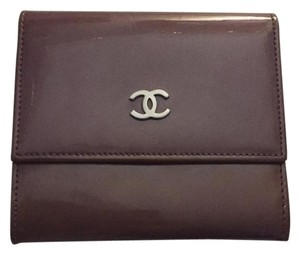 Chanel Chanel Patent Leather Wallet