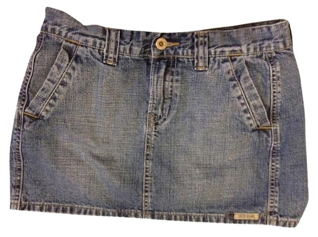 Preload https://item1.tradesy.com/images/lucky-band-micro-mini-skirt-blue-jean-2116160-0-0.jpg?width=400&height=650