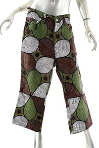 Junya Watanabe Comme Des Gaarcons Capri/Cropped Pants Brown Multi