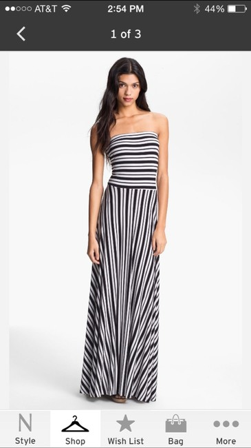 Black And White Maxi Dress by FELICITY & COCO