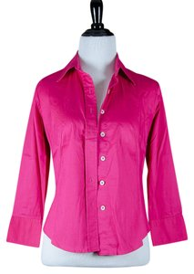 Banana Republic Button Down Shirt Magenta