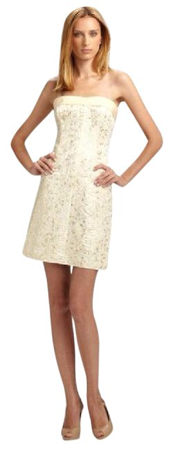 Item - Gold and Silver Short Night Out Dress Size 8 (M)