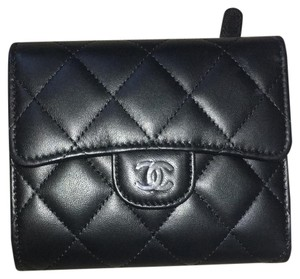 Chanel Chanel Trio-fold Quilted Lambskin Classic Wallet